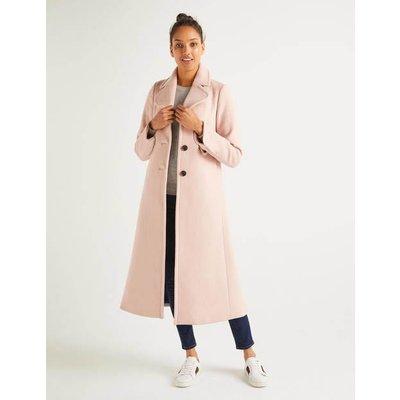 Farleigh Coat Pink Women Boden, Pink