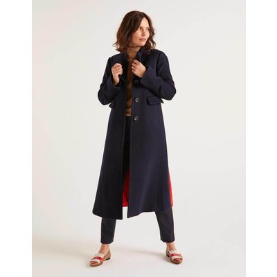 Farleigh Coat Navy Women Boden, Navy