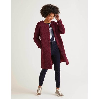 Ranfurly Coat Purple Women Boden, Purple