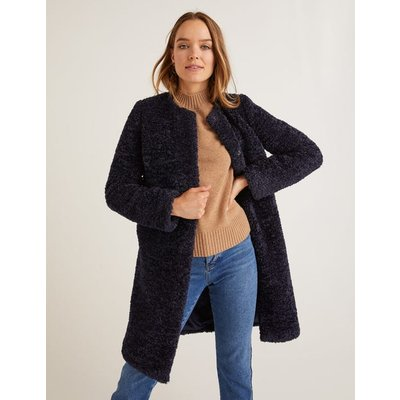 Ranfurly Coat Navy Women Boden, Navy