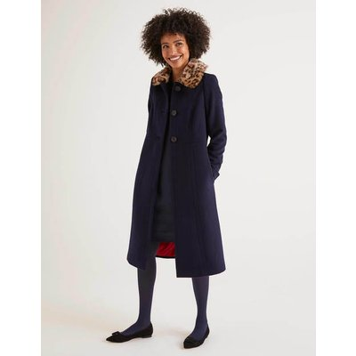 Austen Coat Navy Women Boden, Navy