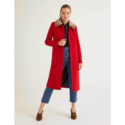 Austen Coat Red Women Boden, Red