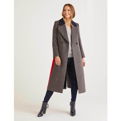 Burney Coat Grey Women Boden, Grey