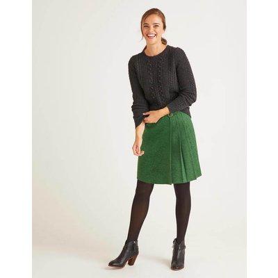 Eleanor Tweed Kilt Green Women Boden, Green