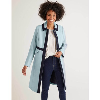 Mitford Coat Blue Women Boden, Blue