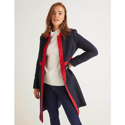 Mitford Coat Navy Women Boden, Navy