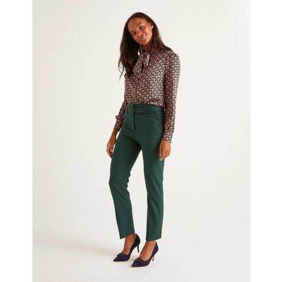 Malden Tweed Trousers Green Women Boden, Green