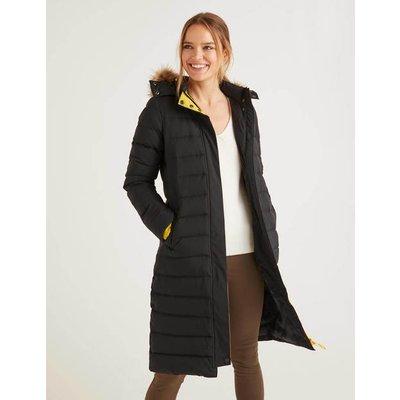 Cavell Puffer Coat Black Women Boden, Black