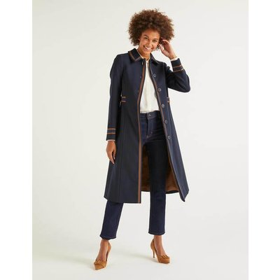 Fonteyn Coat Navy Women Boden, Navy