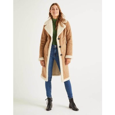 Bell Coat Natural Women Boden, Natural