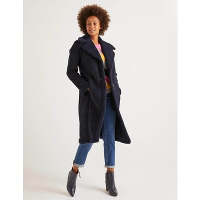Bell Coat Navy Women Boden, Navy