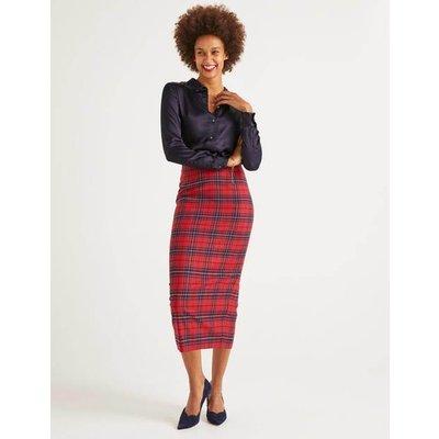 Inverness Pencil Skirt Navy Women Boden, Navy