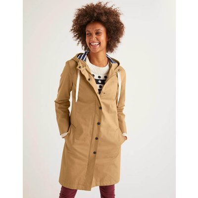 Shelley Waterproof Rain Coat Brown Women Boden, Camel