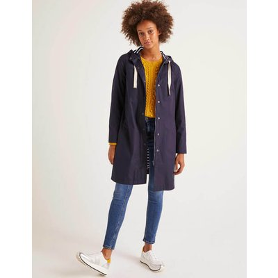 Shelley Waterproof Rain Coat Navy Women Boden, Navy