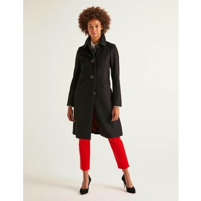 Wilbraham Coat Black Women Boden, Black