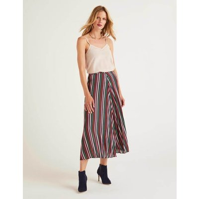 Camille Skirt Pink Women Boden, Brown
