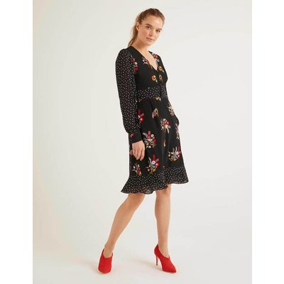 Ivy Dress Black Women Boden, Black
