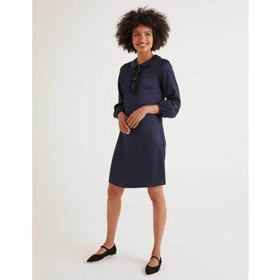 Sophia Sequin Dress Navy Women Boden, Navy