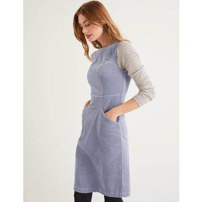 Colette Cord Dress Blue Women Boden, Blue