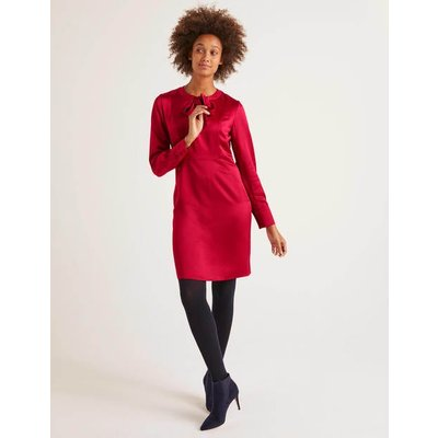 Alicia Satin Dress Red Women Boden, Red
