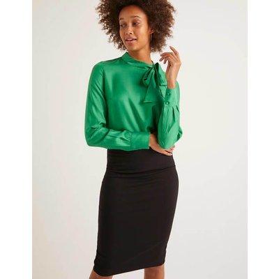 Aria Blouse Green Women Boden, Green