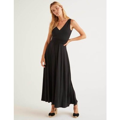 Sienna Jersey Maxi Dress Black Women Boden, Black