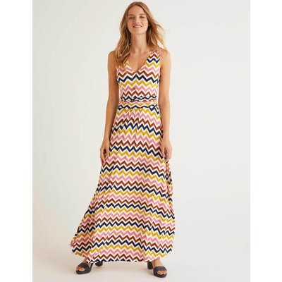 Sienna Jersey Maxi Dress Ivory Women Boden, Ivory