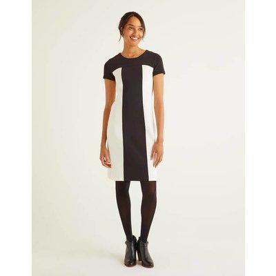 Lizzie Ottoman Dress Black Women Boden, Black