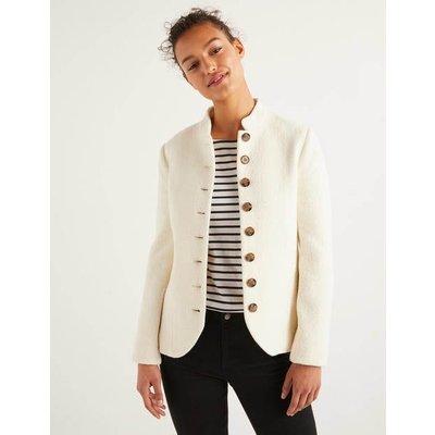 Coade Jacket Ivory Women Boden, Ivory