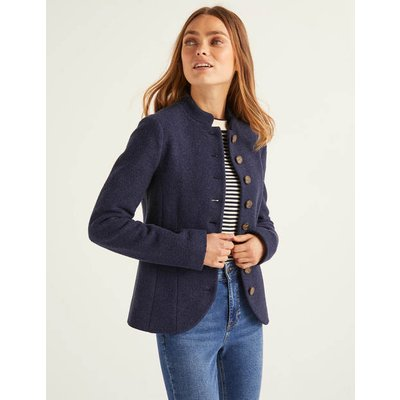 Coade Jacket Navy Women Boden, Navy