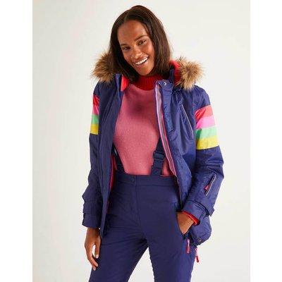Innsbruck Ski Jacket Blue Women Boden, Blue