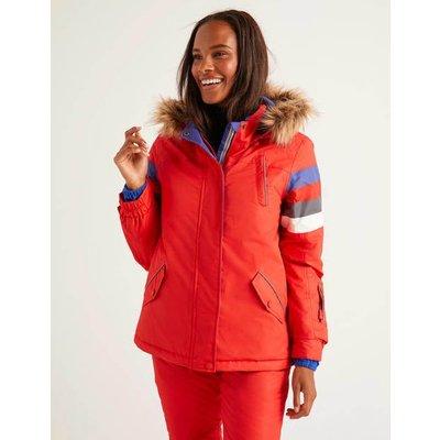 Innsbruck Ski Jacket Red Women Boden, Navy