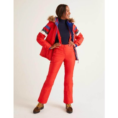 Innsbruck Ski Trousers Red Women Boden, Navy