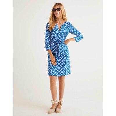 Kelsey Linen Tunic Blue Women Boden, Blue