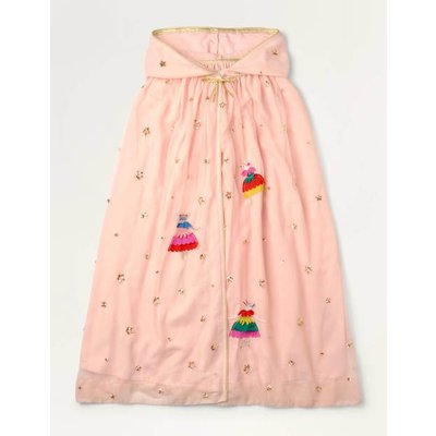 Ballerina Tulle Sequin Cloak Pink Christmas Boden, Pink