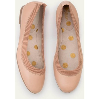 Hettie Flexi Ballerinas Natural Women Boden, Pink