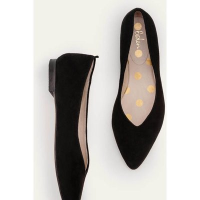 Julia Pointed Flats Black Women Boden, Black
