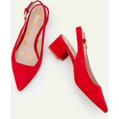 Nadine Slingback Heels Red Women Boden, Red