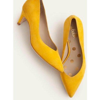 Clara Heels Yellow Women Boden, Yellow