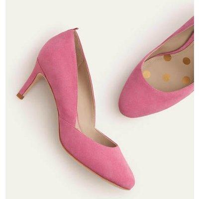 Edie Mid Heels Pink Christmas Boden, Pink