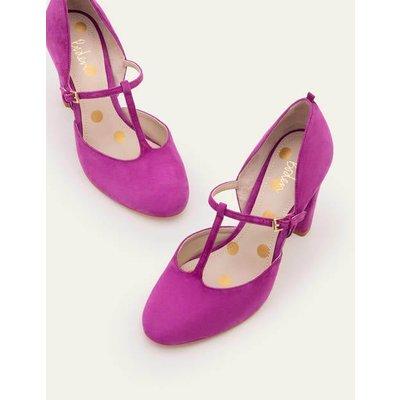 Laurie T-Bar Heels Purple Women Boden, Purple