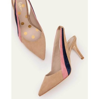 Louisa Slingbacks Brown Women Boden, Camel