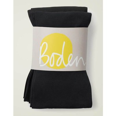 Two Pack 90D Tights Black Women Boden, Black