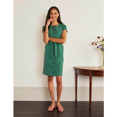 Beatrice Ponte Shift Dress Green Women Boden, Green