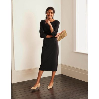 Colette Ponte Dress Black Women Boden, Black