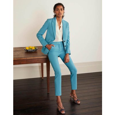 Hampshire Ponte 7/8 Trousers Blue Women Boden, Blue