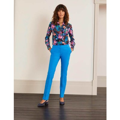 Richmond Trousers Blue Women Boden, Blue