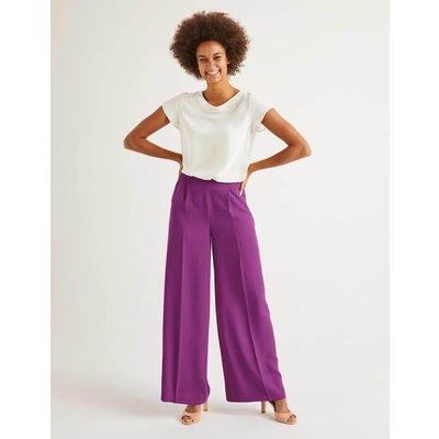 Gresham Trousers Purple Women Boden, Purple