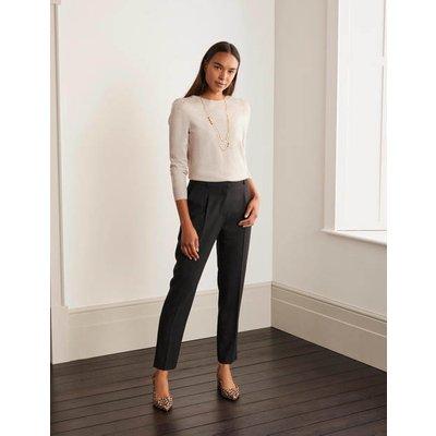 Bridport Straight Leg Trousers Black Women Boden, Black