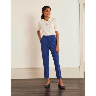 Bridport Straight Leg Trousers Blue Women Boden, Blue